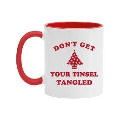 Funny Tinsel Tangled Design