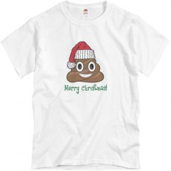 Santa Poop Clause white