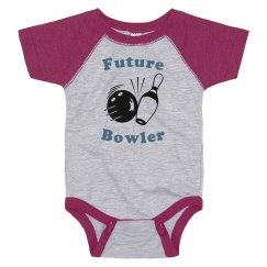 Future Bowler Onesie