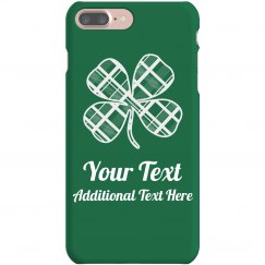 Custom Irish Green Phone Case