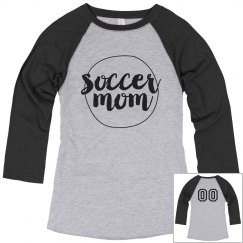 Simple Custom Soccer Mom Shirt