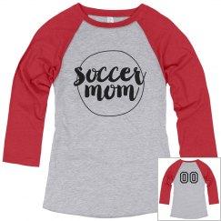 Simple Custom Soccer Mom Shirt