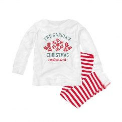 Custom Family Christmas Pajama Set