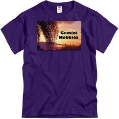 Gemini Hobbies Purple Men's T