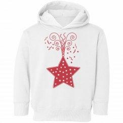 Kids Christmas Star Hoodie