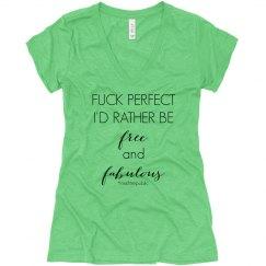 F^@% Perfect - White