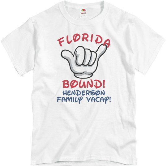 0a6fcf7c0 Florida Family Vacation Unisex Basic Promo T-Shirt