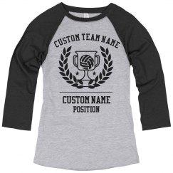 Custom Volleyball Champion