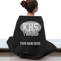 Custom High School Football Stadium Blanket
