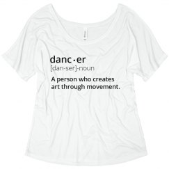 Dancer Definition