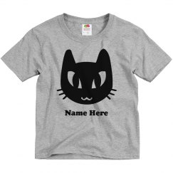 Cute Black Cat Costume Tee