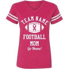 Cancer Awareness Football Mom