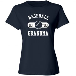 Custom Baseball Grandma Fan
