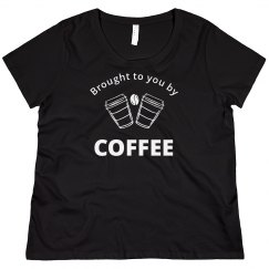 Brought To You By Coffee Sweater