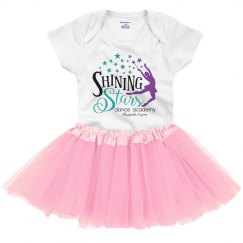 Logo Onesie with Tutu Infant