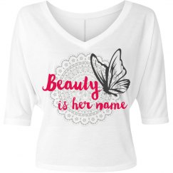 Beauty designer shirt