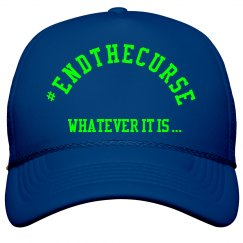 End the Curse Hat GREEN