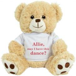 Cute Prom Dance Bear