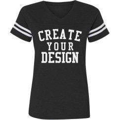 Create a Custom Vintage V-Neck