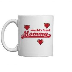 World's Best Mommy Mug
