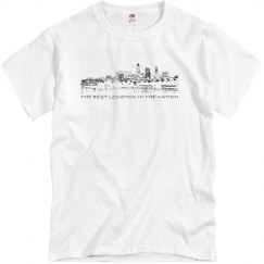 The Best Location in the Nation Cleveland T-shirt