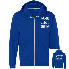 Personalize This Swim Team Hoodie