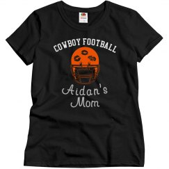 Cowboy Mom helmet bling
