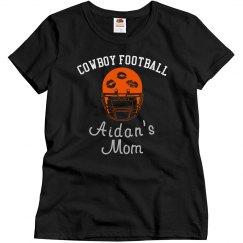 Cowboy Mom helmet bling