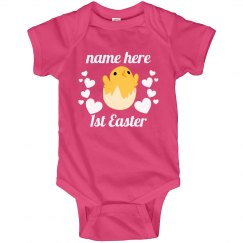 Baby Chick's First Easter Custom