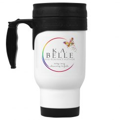 K.A. Belle Logo Travel Mug