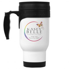 Kasey Belle Logo Travel Mug