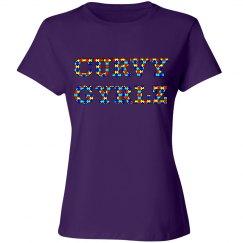 Curvy Gyrlz Autism Purple