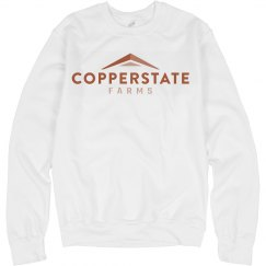 Copperstate Farms Unisex Basic Crewneck Sweatshirt