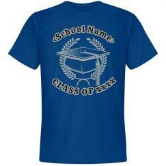 Personalized Graduation Class Tee