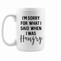 Hangry Coffee Mug