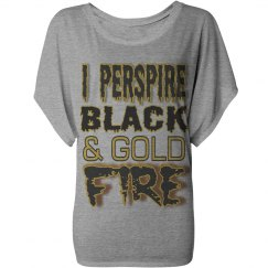 Black & Gold Fire