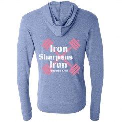 Iron Sharpens Iron Blue w/o barbell