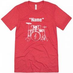 Drummer tee shirt