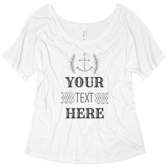 Custom Accent Shirt