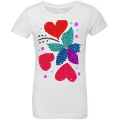 Flower Party Youth Tee
