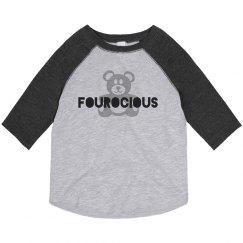 Fourocious Teddy