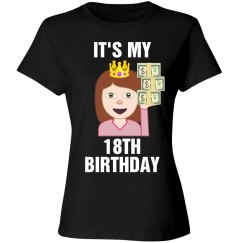18th Birthday Emoji Princess