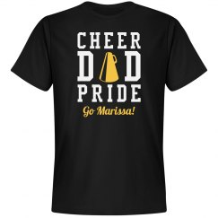 Proud Cheer Dad Sports Tee