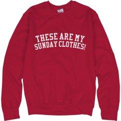 Hello Dolly Sunday Clothes Sweatshirt