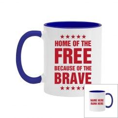 Custom Home Of The Free