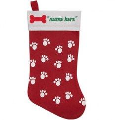 Dog pet stocking
