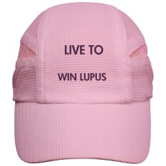 Live To Win Lupus White Cap