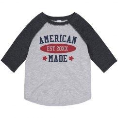 American Born & Raised Toddler