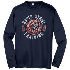 Navy Dry Fit Long Sleeve