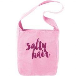 Salty hair